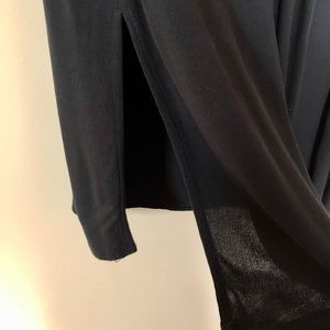 14th & Union Skirts - 14th & Union Side Slit Midi Skirt